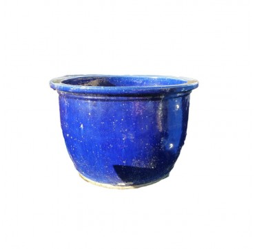 Bellpot chun-blue Hellblau inkl. Unterteller