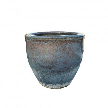 Yixing chun-blue inkl. Unterteller