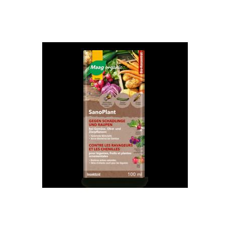 Maag organic - SanoPlant gegen Schädlingen und Raupen