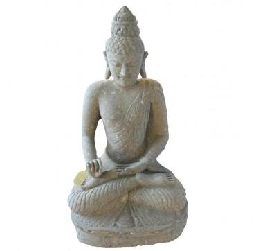Steinbuddha dunkel